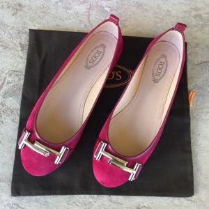 Tod's Ballet Flats Women´s Size 35 Slip-on style
